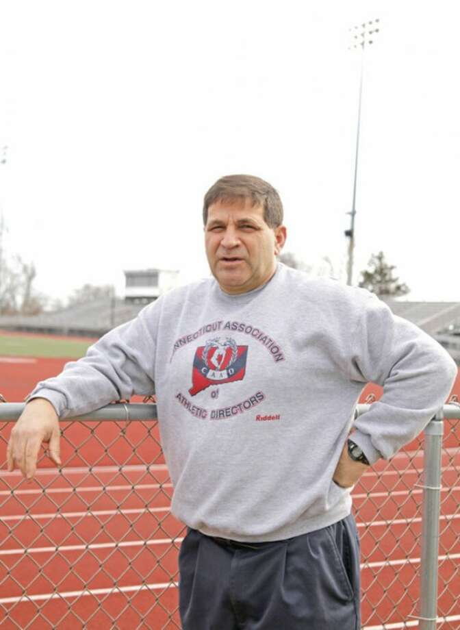 Joe Madaffari, Athletic Director at Brien McMahon High School.Hour Photo / Danielle Robinson