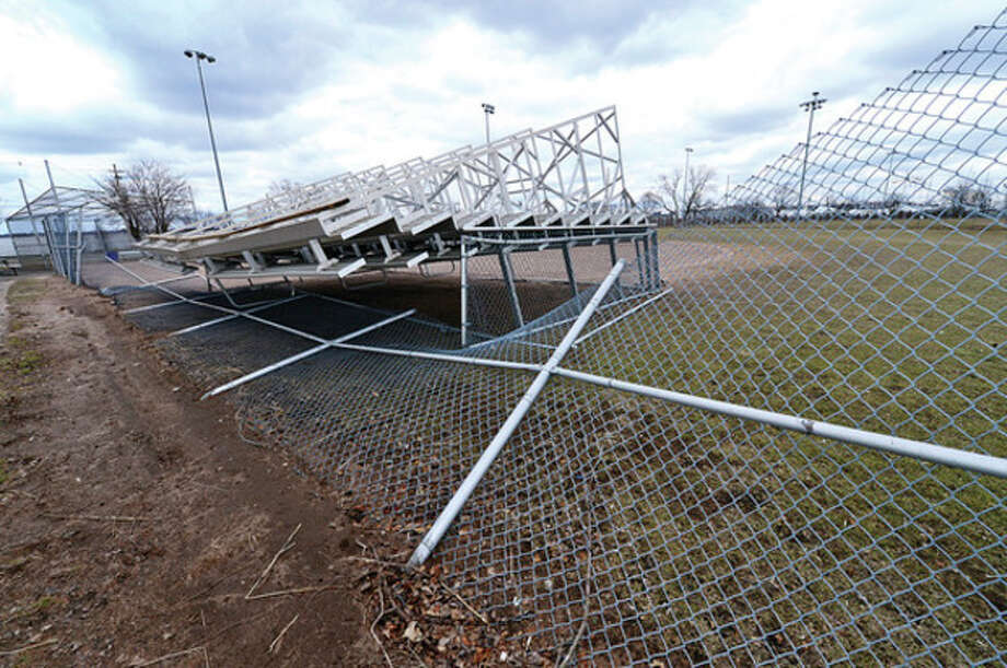 The Norwalk Recreation and Parks Department plans to have the beach in good repair by the end of April despite severe storm damage from Sandy and subsequent storms.Hour photo / Erik Trautmann / (C)2013, The Hour Newspapers, all rights reserved
