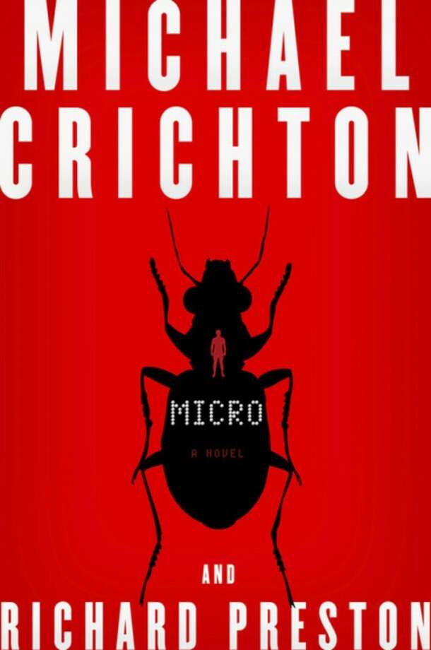 """In this book cover image released by Harper, """"Micro,"""" by Michael Crichton and Richard Preston, is shown. (AP Photo/Harper)"""
