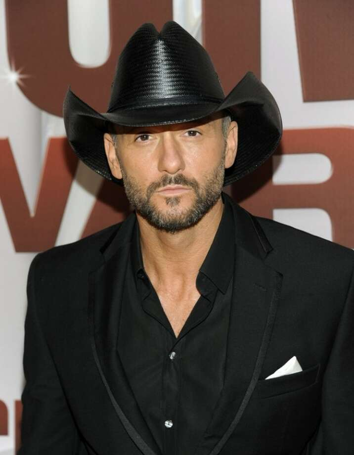 Ap photoIn this Nov. 9, 2011 file photo, country singer Tim McGraw arrives at the 45th Annual CMA Awards in Nashville, Tenn.