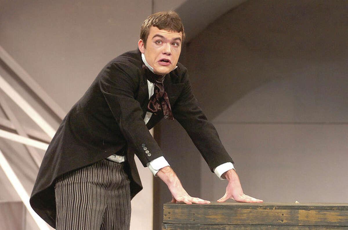 Hour Photo/ Alex von Kleydorff. Abilock Clemmons as Mr. Snowberry in Oliver