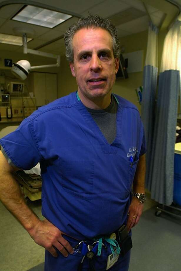Dr. Brian McGovern, Vice Chairman of the Emergency Department at Norwalk Hosptial. Hour photo / Erik Trautmann