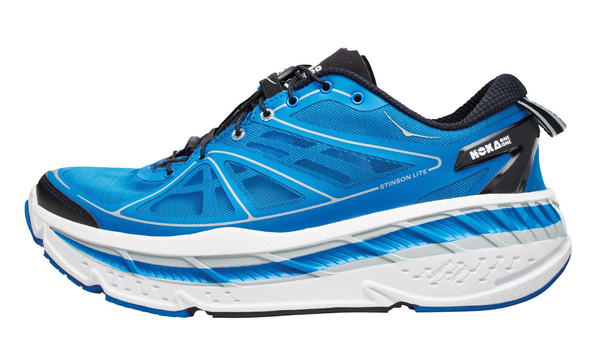 ultra-fat, super-cushioned running shoe