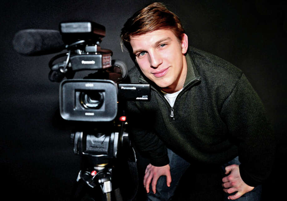 Hour photo / Erik TrautmannNew York University filmmaker/film student and Norwalk native Alex Morsanutto, 21, is looking for funding for his senior thesis film, Little Lion. / (C)2013, The Hour Newspapers, all rights reserved