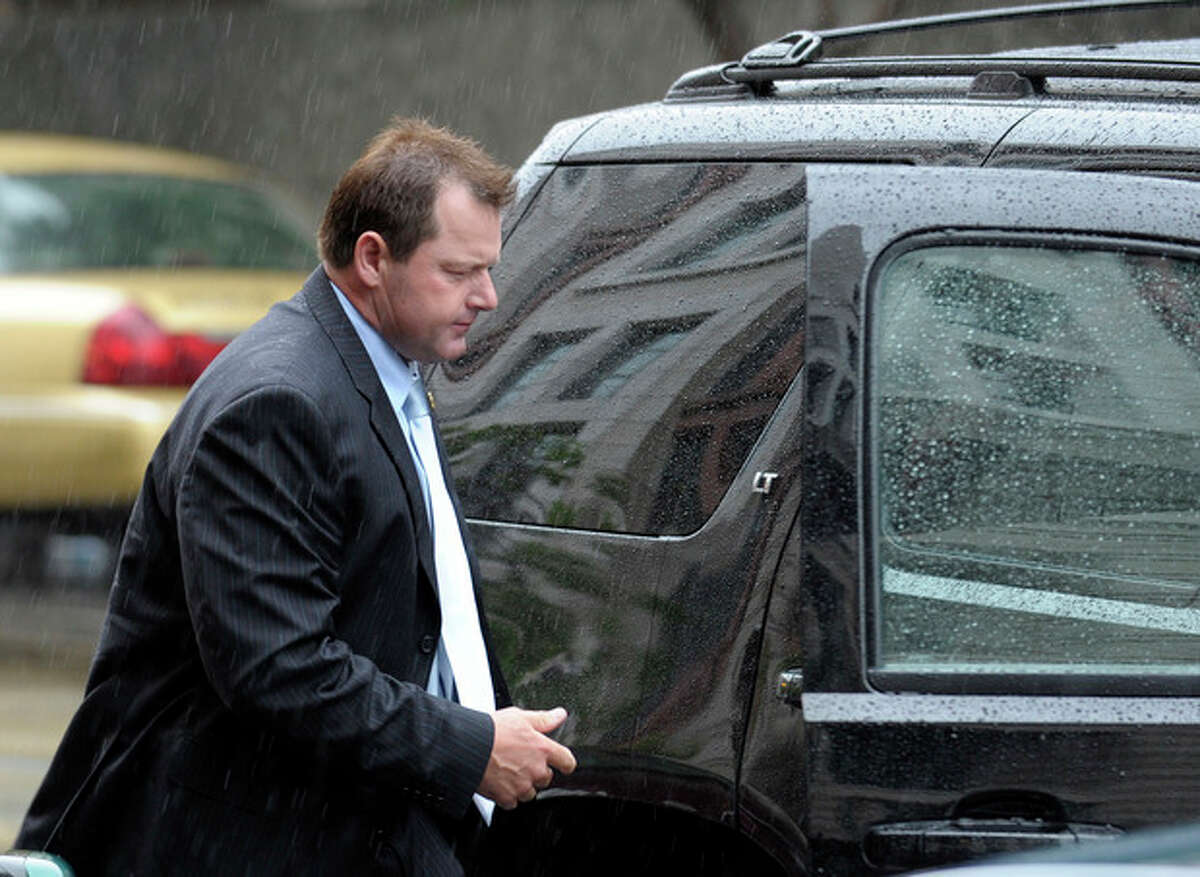 Former Major League Baseball pitcher Roger Clemens arrives at federal court in Washington, Monday, May 14, 2012. Clemens' chief accuser is expected to testify Monday against the former pitcher, a make-or-break moment for the prosecution as it seeks to convict Clemens of perjury. (AP Photo/Susan Walsh)