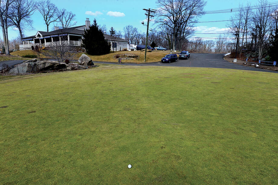 Oak Hills Park Authority votes on issuance of request for proposals seeking firms to build and operate driving range on open space behind the existing restaurant. Hour photo / Erik Trautmann / (C)2013, The Hour Newspapers, all rights reserved