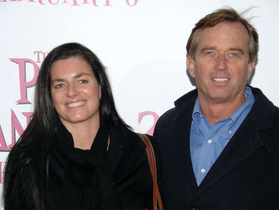 """AP file photo / Peter KramerIn this Feb. 3, 2009, file photo, Robert F. Kennedy Jr., right, and wife Mary Richardson Kennedy arrive at the premiere of """"The Pink Panther 2"""" at the Ziegfeld Theatre in New York. An attorney on Wednesday said Mary Kennedy has been found dead on Robert F. Kennedy Jr.'s property in Bedford, N.Y. / AP2009"""