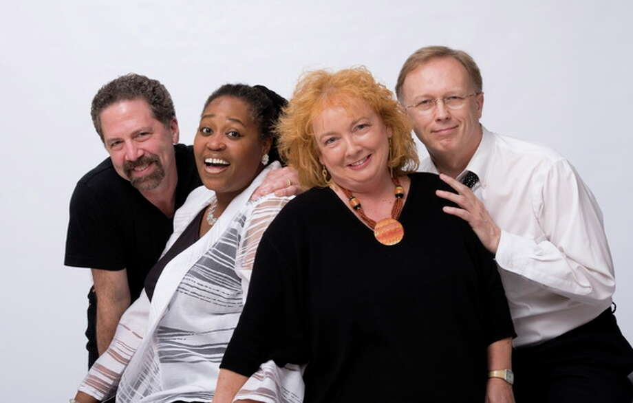 Contributed photoExit 43 the band will play a Voices Café at the Unitarian Church in Westport.