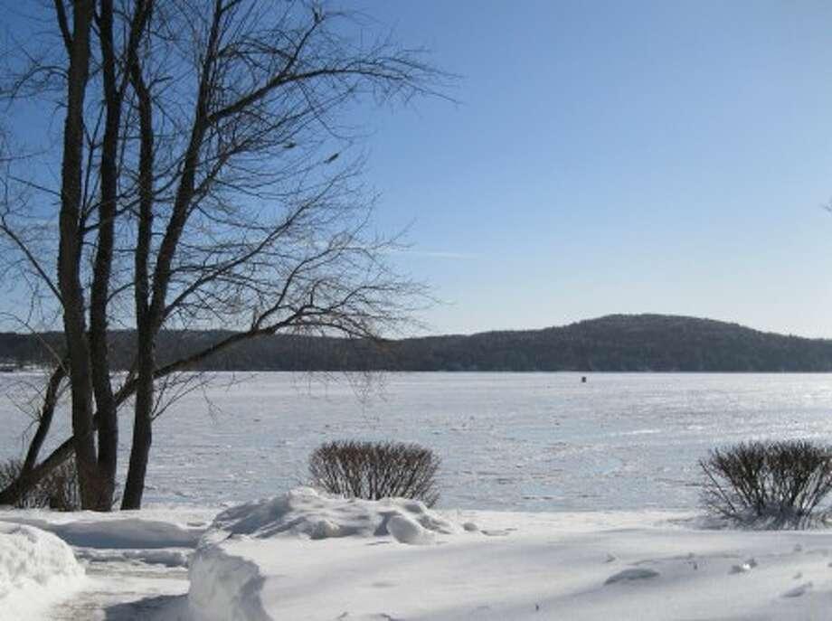 The beauty of Lake Winnipesaukee in winter.