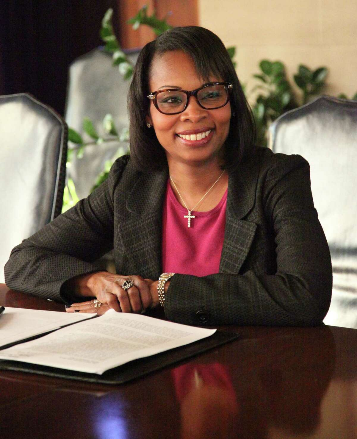 Mayor Ivy Taylor plans to lay out her major initiatives for the coming year to Saen Editorial Board Friday December 4, 2015.