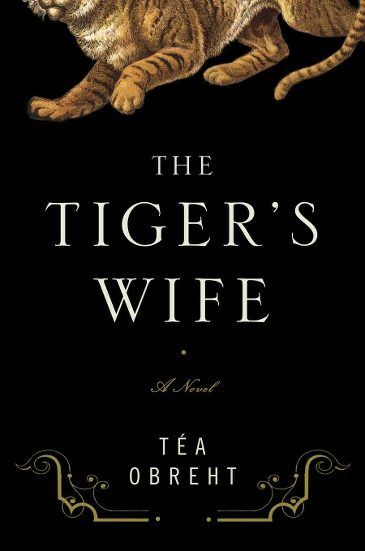 """In this book cover image released by Random House, """"The Tiger''s Wife, by Tea Obreht, is shown. (AP Photo/Random House)"""