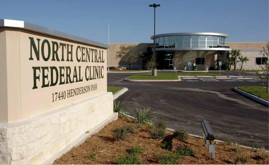 The North Central Federal Clinic, a joint venture between the U.S. Department of Veterans Affairs and the Department of Defense, is located at 17440 Henderson Pass on San Antonio's North Side. Photo: Courtesy Photo
