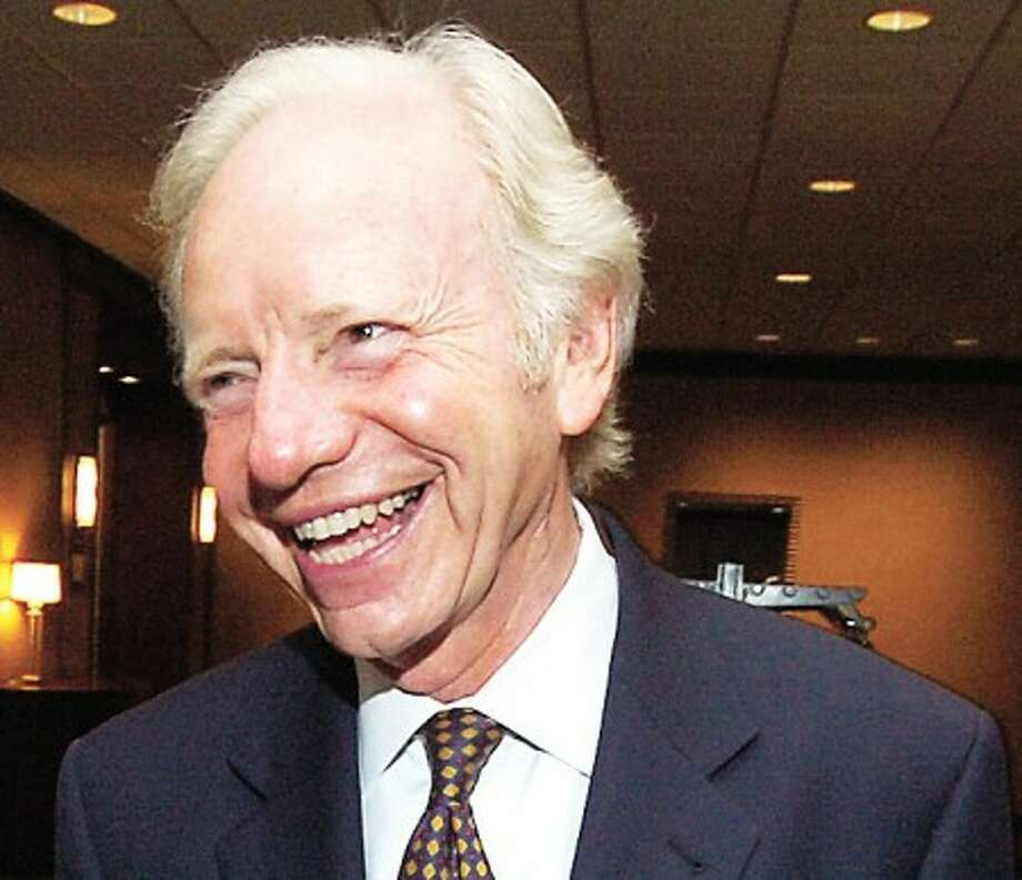 File photo/Alex von Kleydorff. Sen. Joe Lieberman.