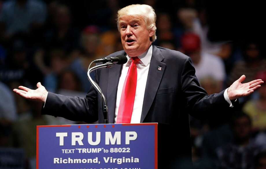 Republican Presidential candidate Donald Trump has placed immigration issues at the forefront of his campaign. Photo: Steve Helber, STF / Copyright 2016 The Associated Press. All rights reserved. This material may not be published, broadcast, rewritten or redistribu
