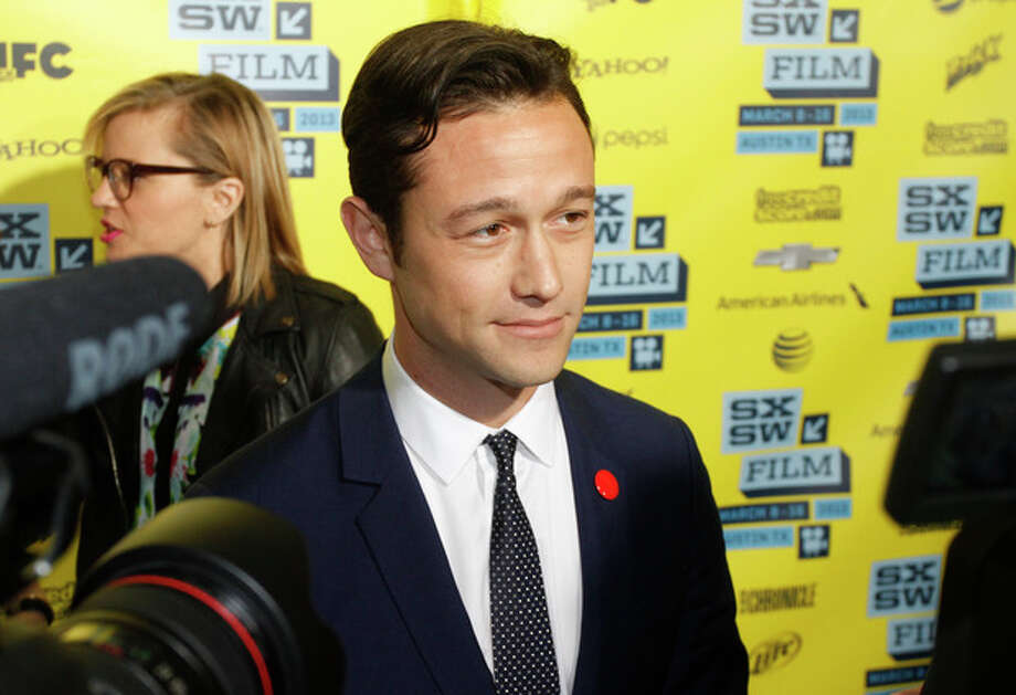 "Joseph Gordon-Levitt arrives at a screening of ""Don Jon's Addiction at the SXSW Film Festival, on Monday, March 11, 2013 in Austin, Texas. (Photo by Jack Plunkett/Invision/AP Images) / Invision"