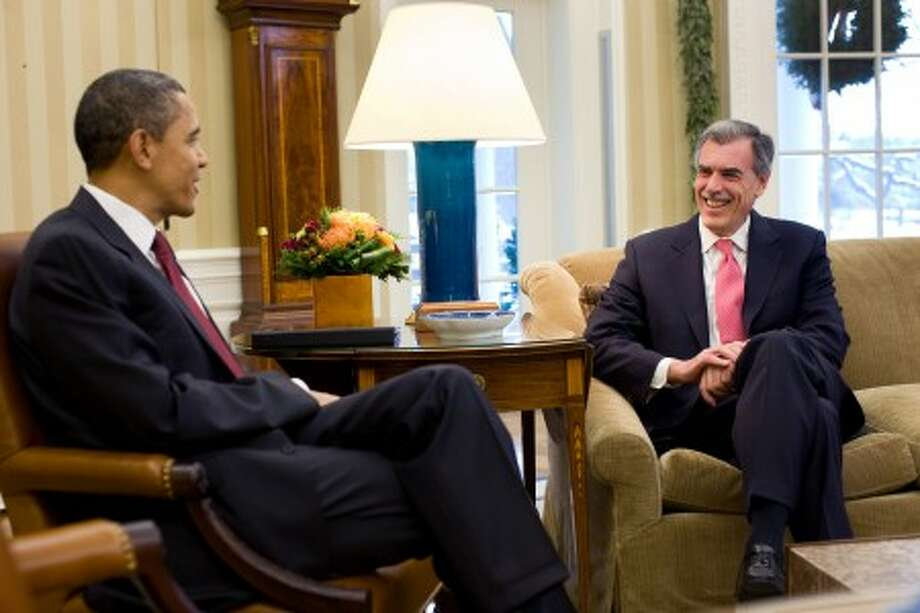 President Barack Obama talks with Donald Verrilli in the Oval Office, Dec. 17, 2010. (Official White House Photo by Pete Souza) This official White House photograph is being made available only for publication by news organizations and/or for personal use printing by the subject(s) of the photograph. The photograph may not be manipulated in any way and may not be used in commercial or political materials, advertisements, emails, products, promotions that in any way suggests approval or endorsement of the President, the First Family, or the White House.