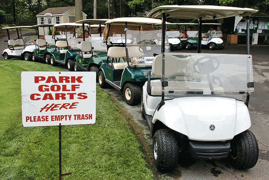 The City of Norwalk approved second debt restructuring for Oak Hills Park Authority. The authority will hire new golf pro and is poised to receive new golf carts. Hour photo / Erik Trautmann / (C)2012, The Hour Newspapers, all rights reserved