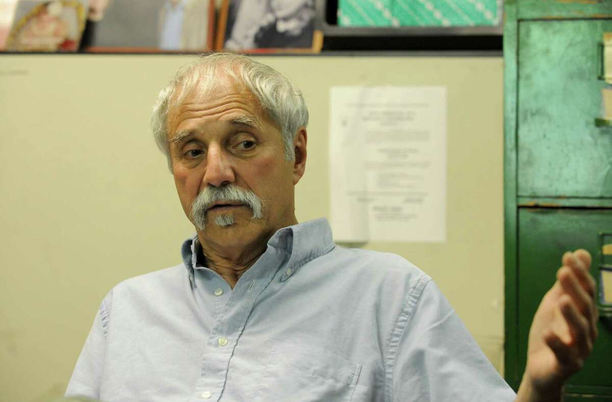 Roger Markovics talks about running United Tenants of Albany for 43 years on Tuesday June 14, 2016 in Albany, N.Y. (Michael P. Farrell/Times Union)