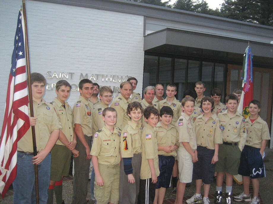 Contributed photoBoy Scout Troop 125 in Wilton, which will celebrate its 101st Eagle Scout ranking on Monday following the town's Memorial Day parade and ceremony.