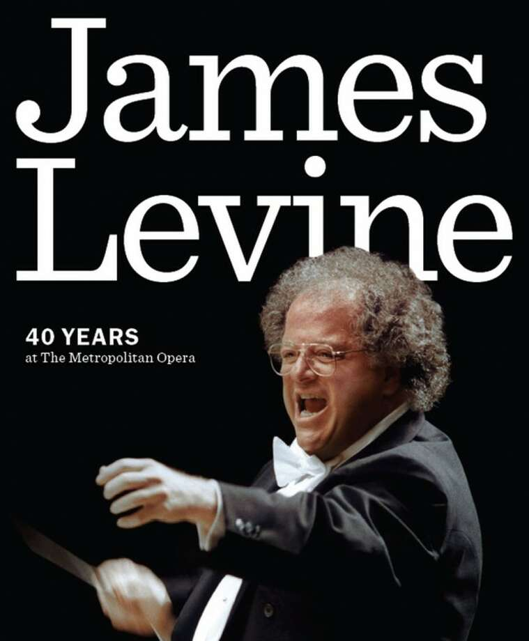 "In this book cover image released by Amadeus Press, ""James Levine: 40 Years at The Metropolitan Opera,"" is shown. (AP Photo/Amadeus Press)"