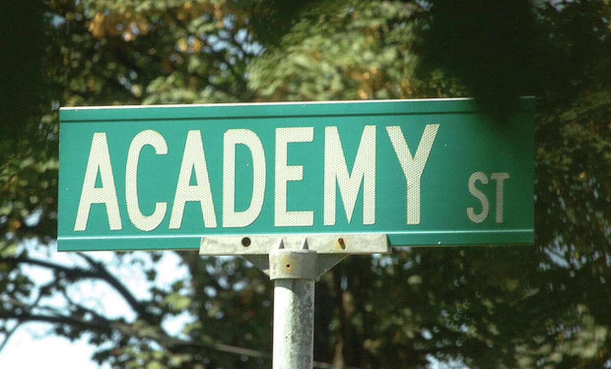 @White=[C] Hour Photo/Alex von Kleydorff Academy Street will soon get the honorary title of 'Richard Fuller Way'.