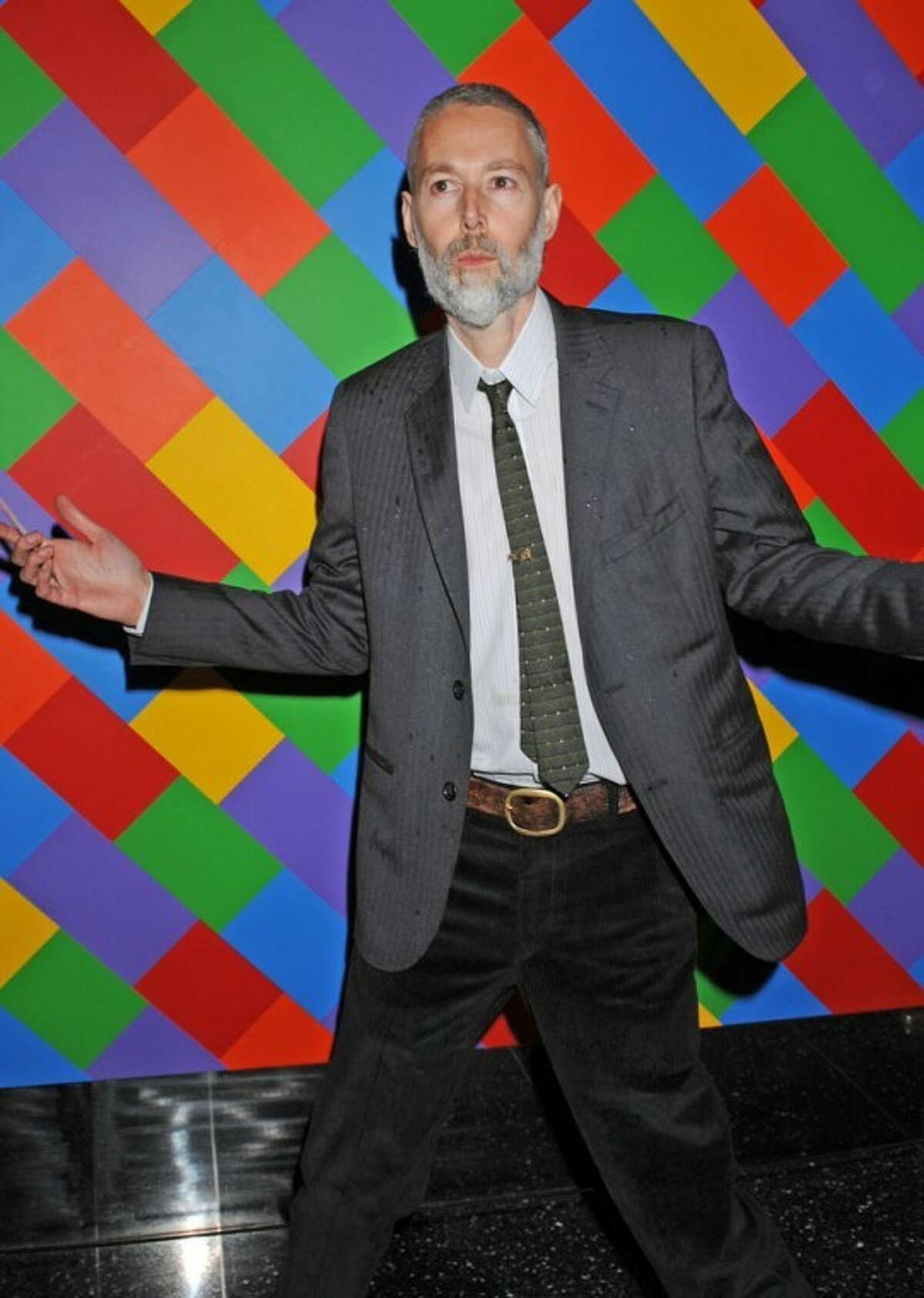FILE - In this Oct. 11, 2010 file photo, Beastie Boys' Adam Yauch arrives for the world premiere of the new movie