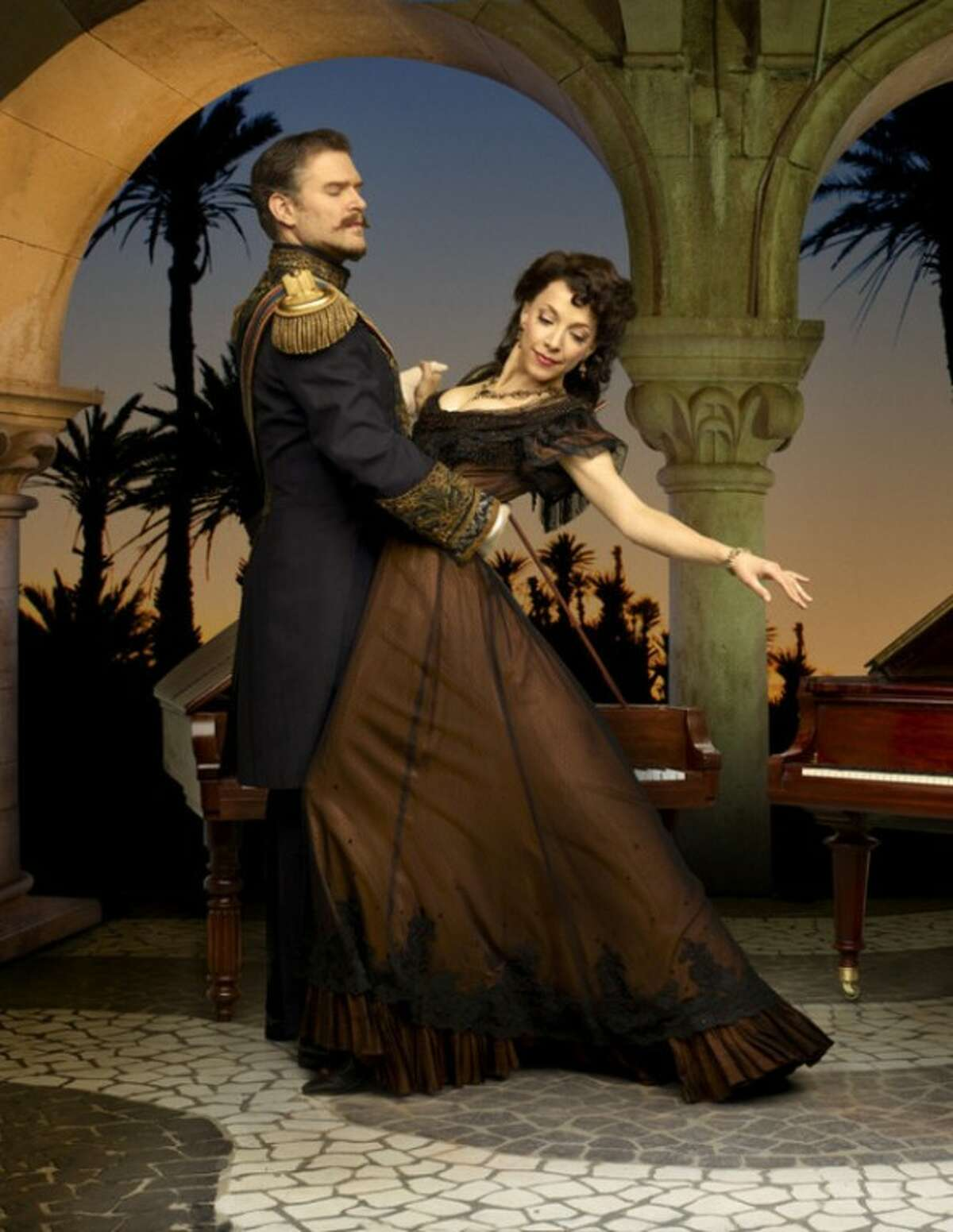 Contributed photo Ben Carlson, Deborah Hay star in Much Ado About Nothing at Stratford Shakespeare Festival in Canada.