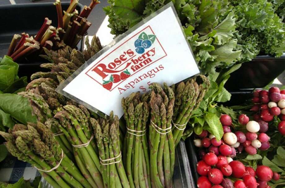 Photo by Alex von Kleydorff. Roses Berry farm has much to offer at The Westport farmers market.