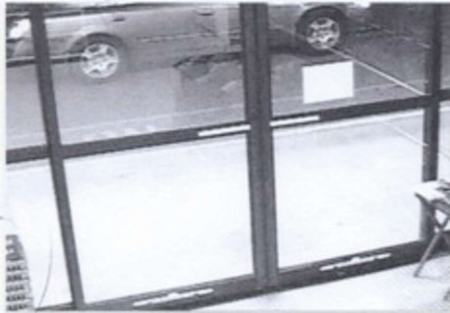 Contributed photo This image captured by surveillance footage shows the Nissan Altima police believe was used during a shooting in April.