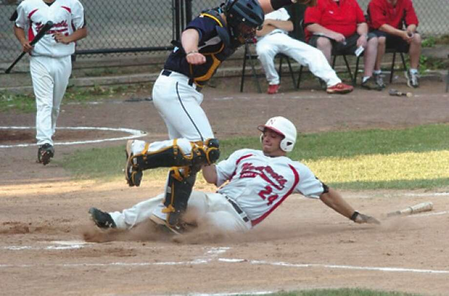 K. Daniele Norwalk legion baseball vs. Stamford. hour photo/matthew vinci