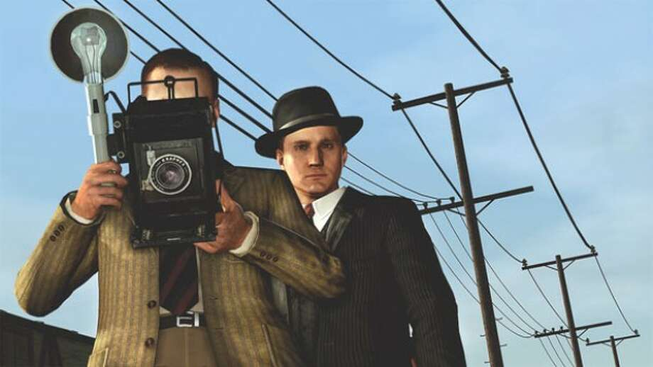"In this video game image released by Rockstar Games, a scene is shown from the murder-mystery game ""L.A. Noire."" (AP Photo/Rockstar Games)"