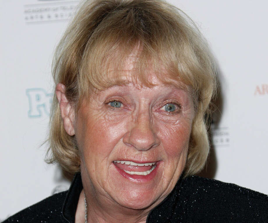 """FILE - In this Sept. 19, 2008 file photo, Kathryn Joosten arrives at the 2008 Primetime Emmy Awards Nominees for Outstanding Performance reception in Los Angeles. Joosten, the veteran character actress who played crotchety Karen McCluskey on ABC's """"Desperate Housewives,"""" died Saturday, June 2, 2012. She was 72. (AP Photo/Matt Sayles, File) / AP2008"""