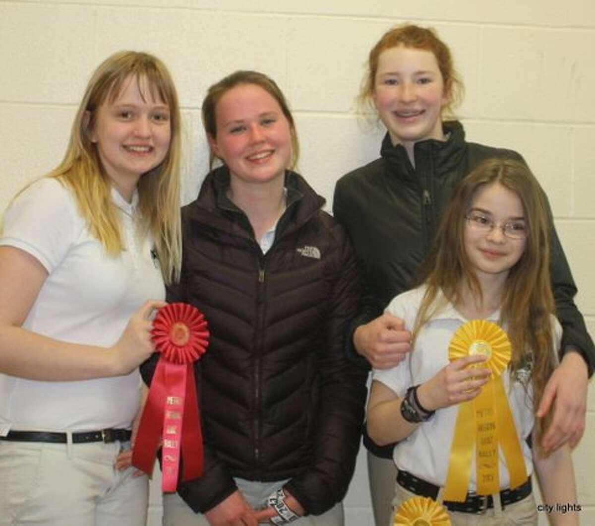 Wiltonites Take Home Prizes at Pony Club Quiz Rally