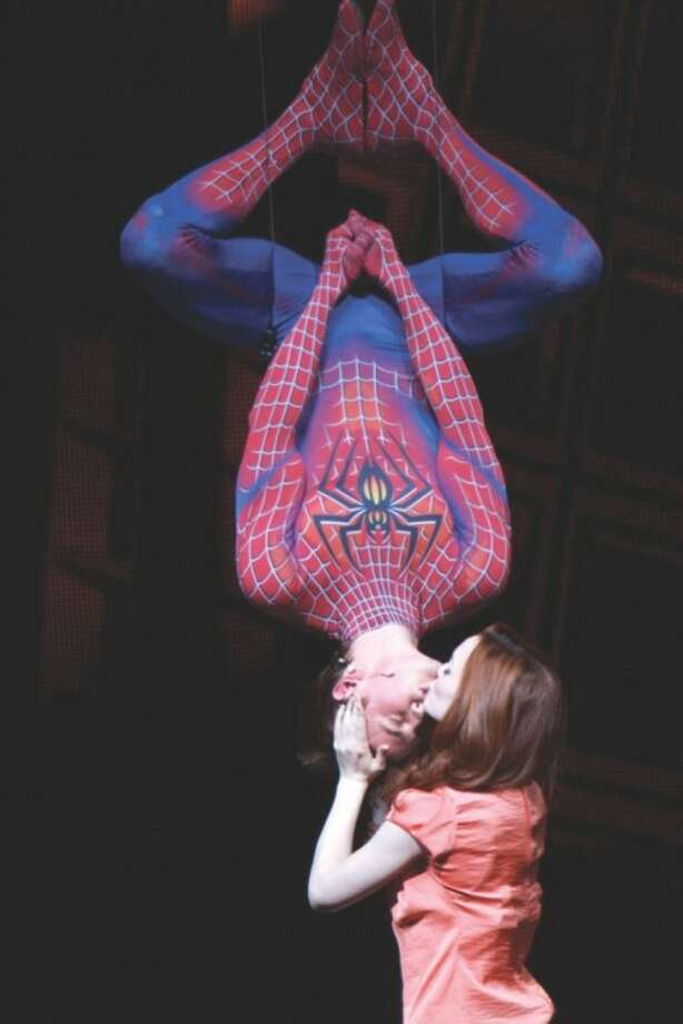 Review: Broadway's 'Spider-Man' opens -- finally