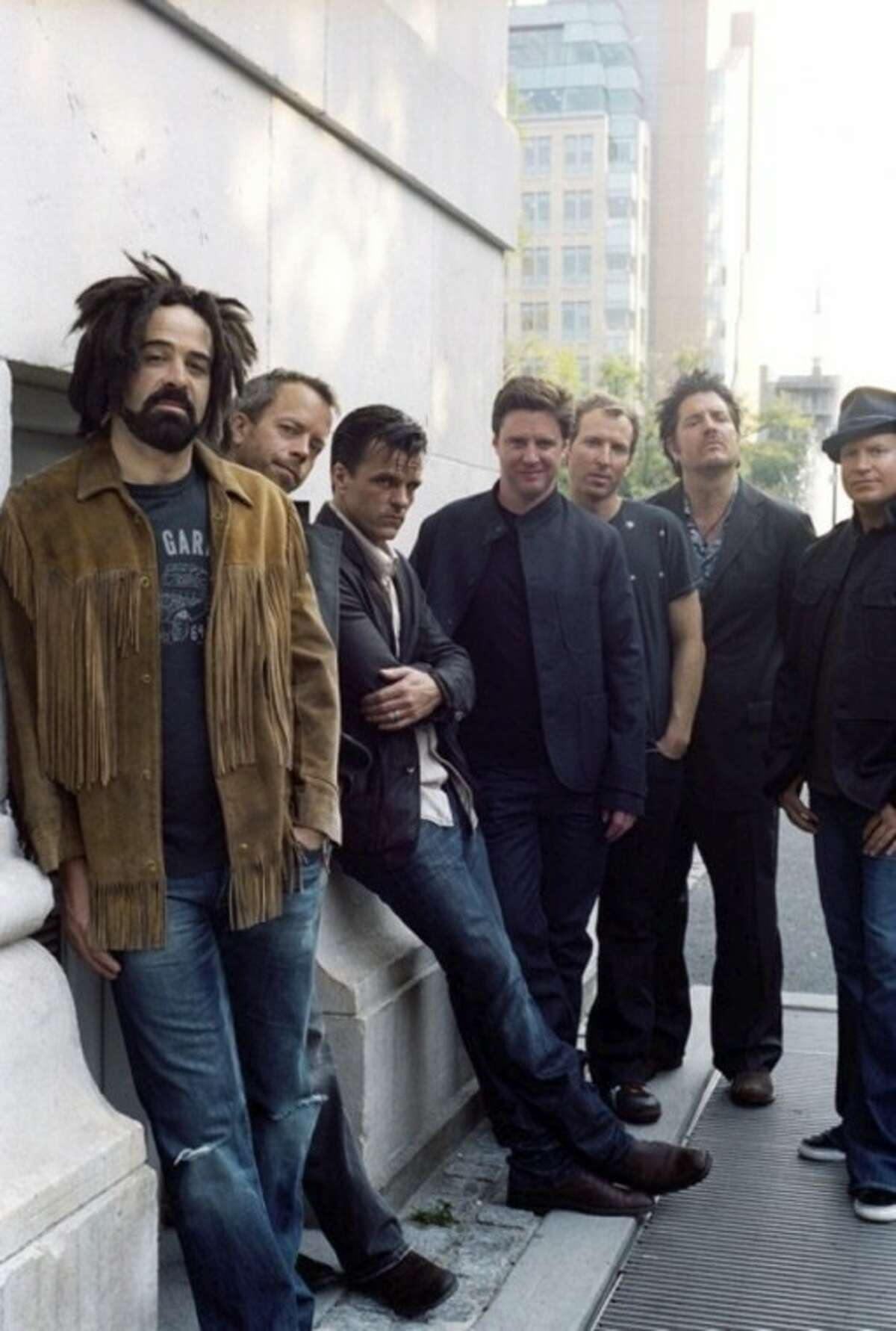 Contributed photo Counting Crows will play Ives Concert Park Tuesday.
