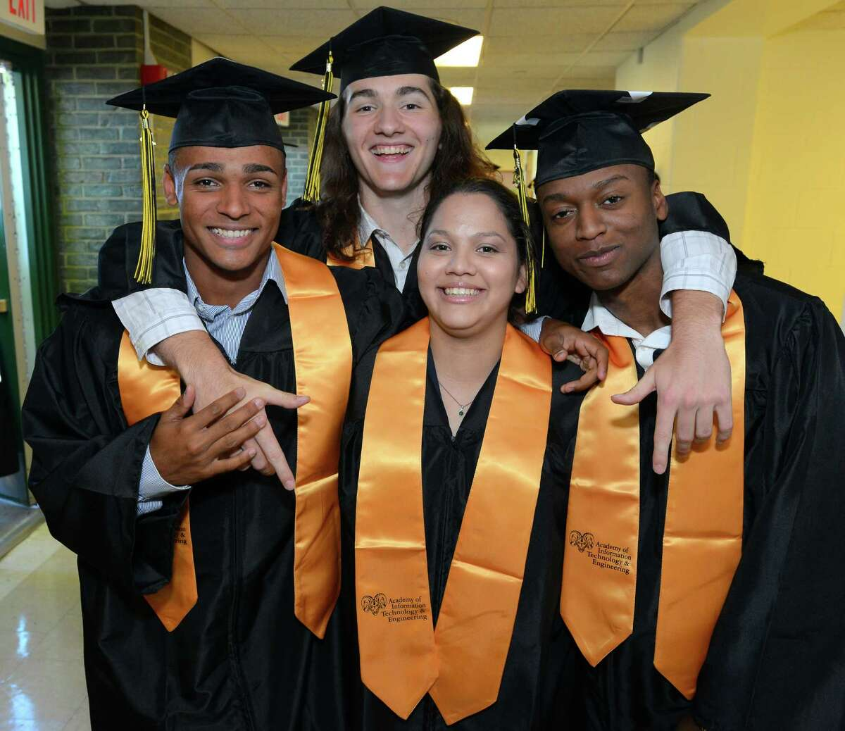 8. Academy of Information Technology Stamford, CTStudent racial diversity index: 70%Gender diversity: 58%Free/reduced lunch: 29%Source: Niche