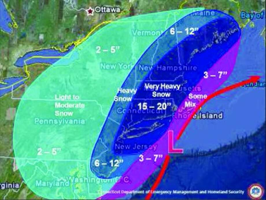 Norwalk snow emergency will go into effect at 6 p.m. today