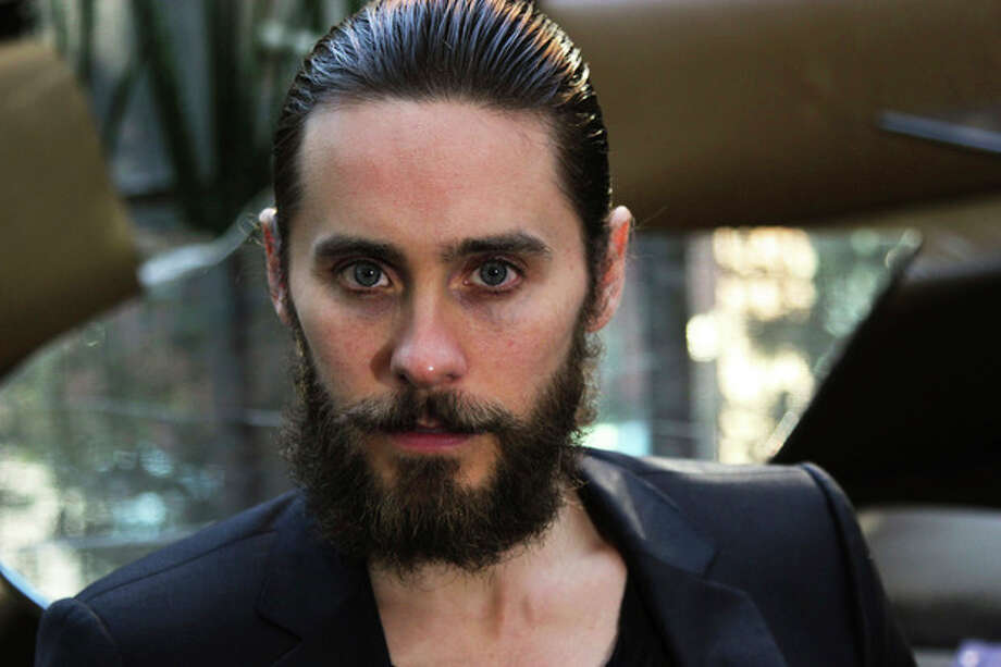 In this Sept. 12, 2012 photo, Thirty Seconds to Mars frontman Jared Leto poses for a portrait during the 2013 Toronto International Film Festival. Leto announced Monday, March 18, 2013 that the band will release its fourth album on May 21. (AP Photo/John Carucci) / AP