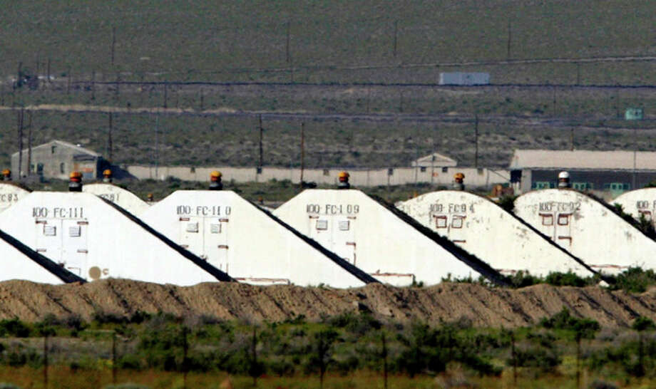 AP file photoThis May 20, 2005, file photo shows storage bunkers at the U.S. Army Depot in Hawthorne, Nev. Seven Marines from a North Carolina unit were killed and several injured in a training accident at the Hawthorne Army Depot, the Marine Corps said Tuesday. / ap
