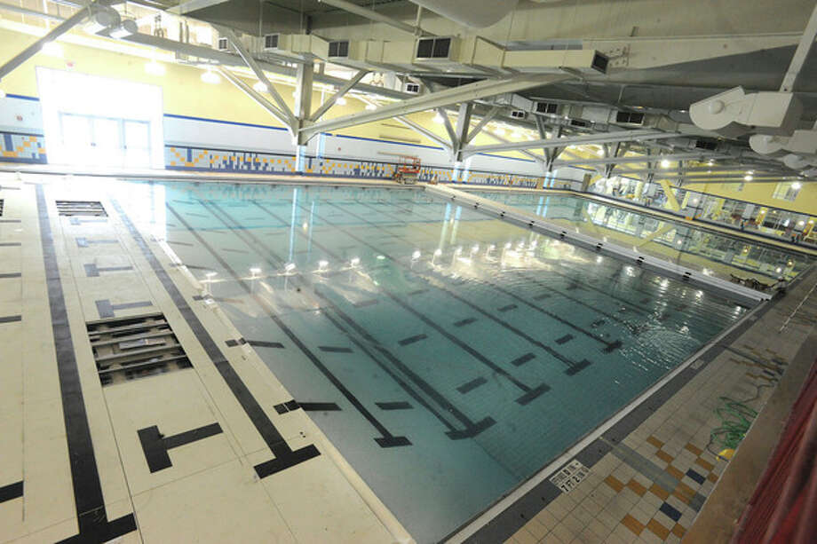 The olympic size pool at the new Chelsea Piers. hour photo/Matthew Vinci