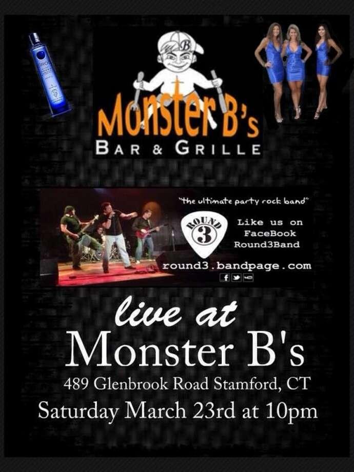 Round 3 Live at Monster B's  Bar