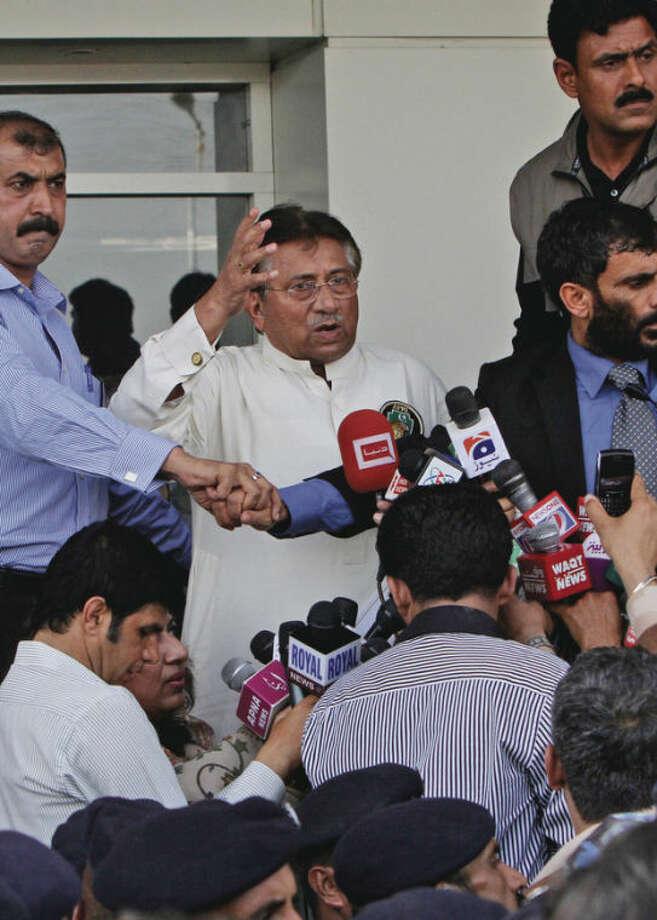 Ap photoFormer PresidentPervez Musharraf