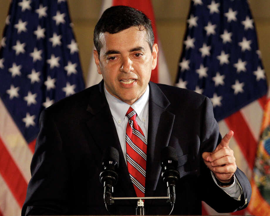 AP Photo/Alan Diaz, FileIn this Nov. 2, 2010 file photo, then Florida Republican Rep. candidate David Rivera speaks in Coral Gables, Fla. Ethical clouds are hanging over at least a dozen lawmakers but in most cases they don't appear to be having much of an impact on their re-election prospects. / AP