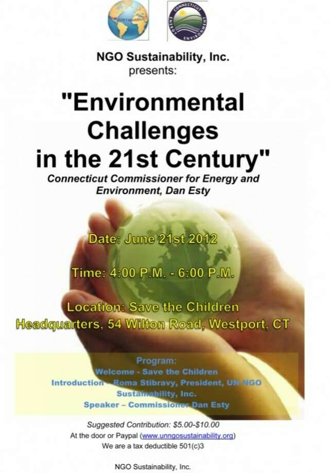 NGO Sustainability, Inc. will be holding an event on June 21.