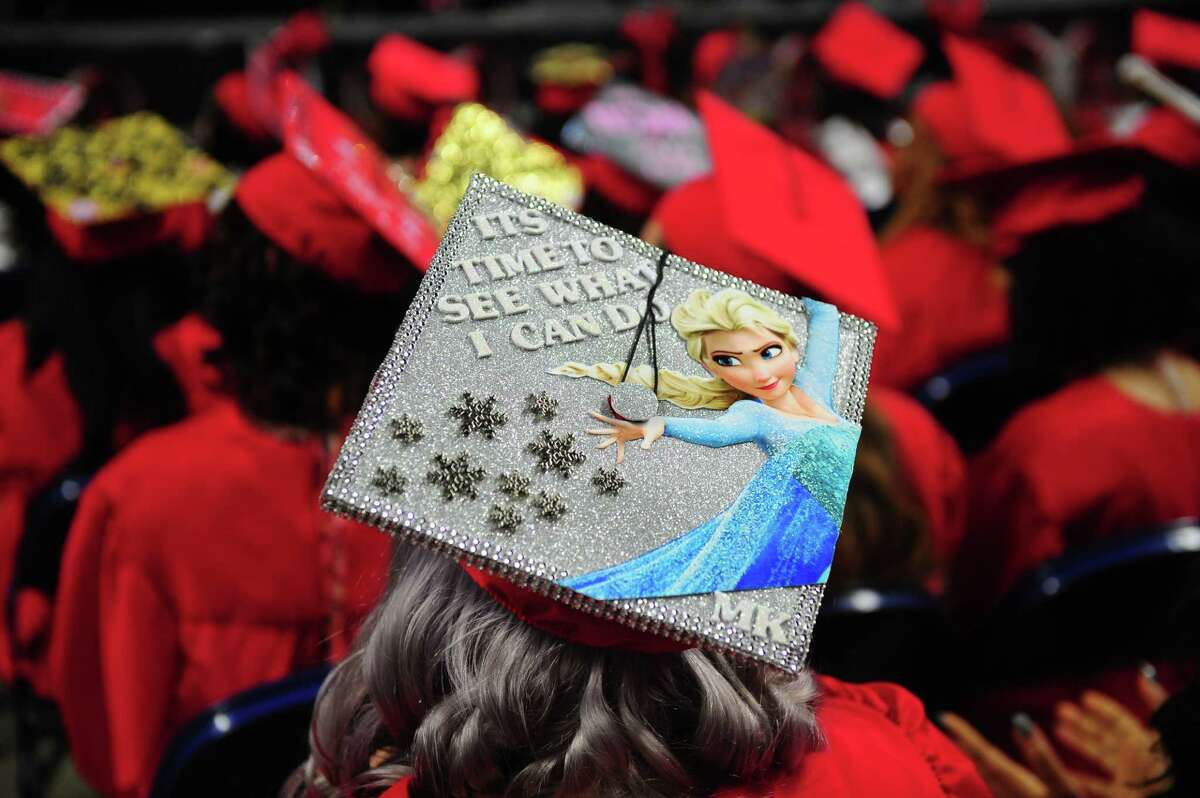Central High School's Class of 2016 Graduation Exercises at the Webster Bank Arena in Bridgeport, Conn., on Tuesday June 14, 2016.