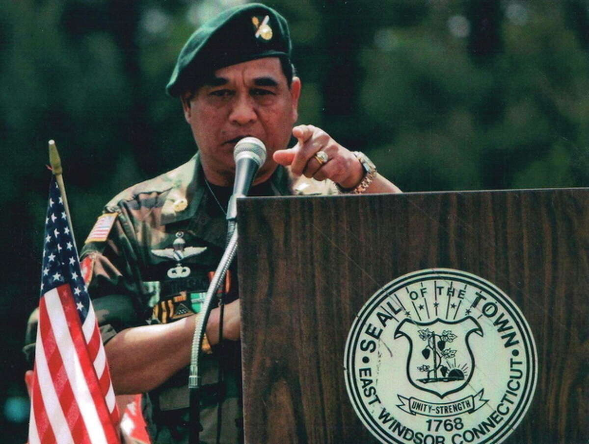 This undated photo provided by the SGU National Headquarters shows former Maj. Sar Phouthasack. Phouthasack was part of the Special Guerrilla Unit, known as the