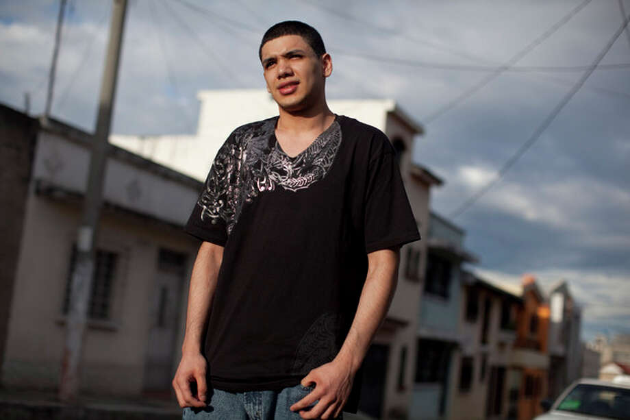 In this photo taken June 15, 2012, Yannick Grijalba, 18, from Guatemala, poses for pictures during an interview with The Associated Press in Guatemala City. Grijalba was deported from the US on Wednesday, June 13. President Barack Obama announced last week his decision to allow hundreds of thousands of illegal immigrants under 30 with high school degrees and no criminal history a chance to stay and work in the country. (AP Photo/Rodrigo Abd) / AP