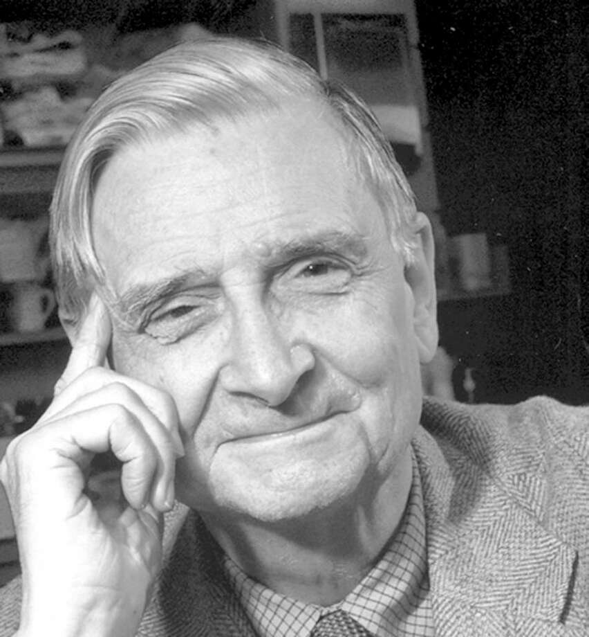 Biologist and novelist Edward O. Wilson Photo: Contributed Photo / Greenwich Citizen