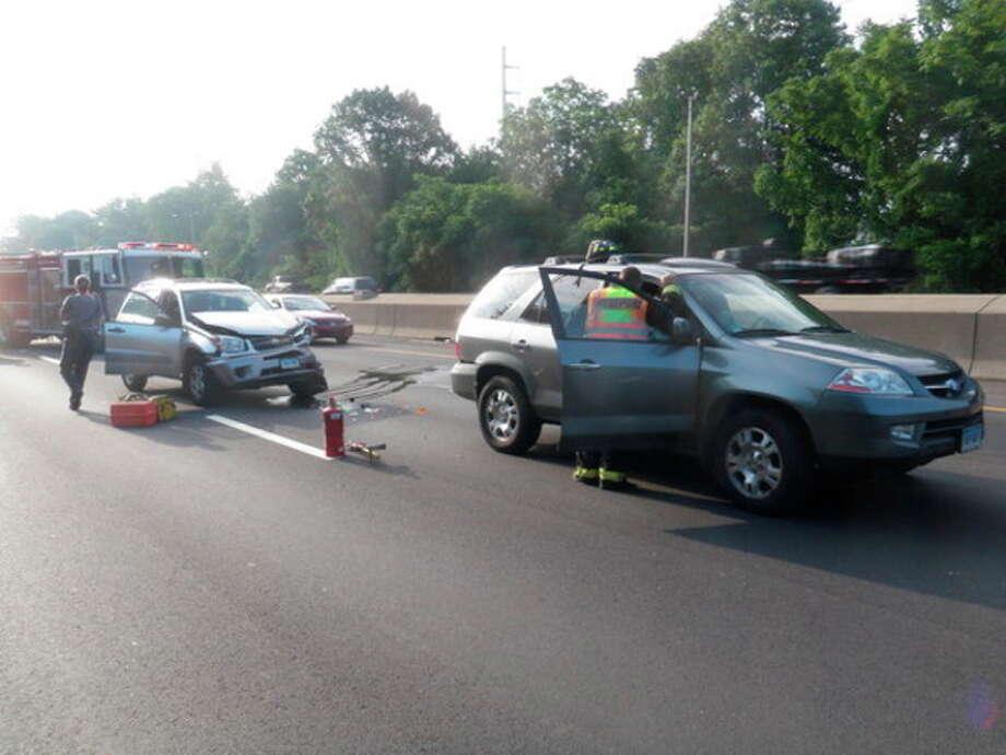 Two vehicle crash injuries several in Westport