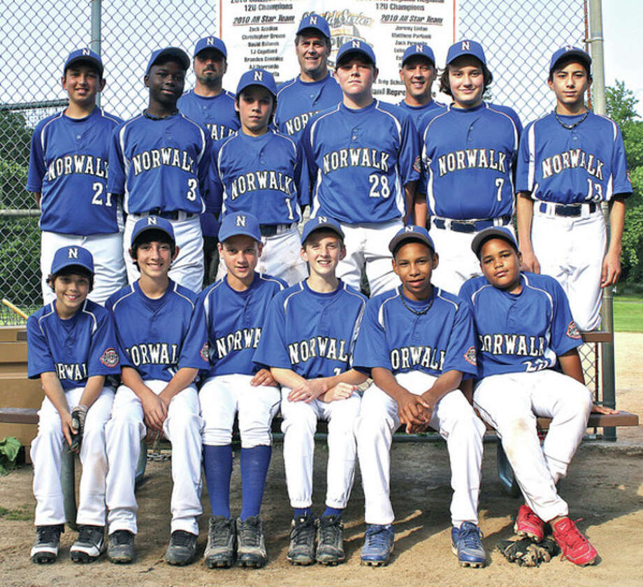 Contributed photoThe Norwalk Cal Ripken Baseball 12-year-old squad begins distict tournament play Saturday against Stratford at Saxe Middle School in New Canaan.
